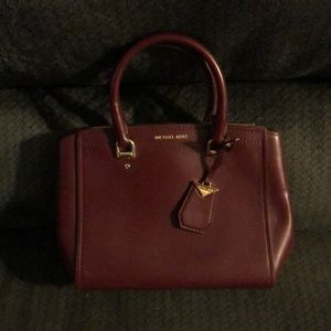 NWOT Michael Kors Small Red Handbag